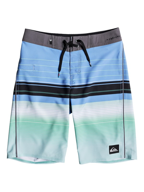 "0 Boys 8 -16 Highlinesion 19"" Boardshorts  EQBBS03237 Quiksilver"