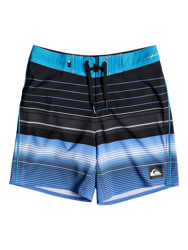 """0 Highline Swell Vision 15"""" - Board Shorts for Boys 8-16 Black EQBBS03238 Quiksilver"""
