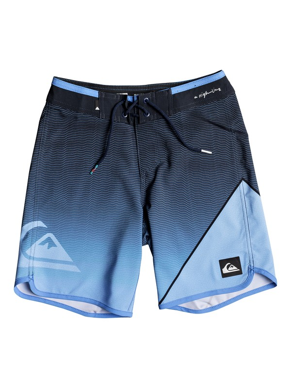"0 Highline 16"" - Boardshorts for Boys 8-16 Blue EQBBS03241 Quiksilver"