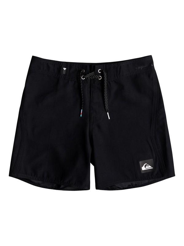 "0 Highline Kaimana 14"" - Board Shorts for Boys 8-16 Black EQBBS03243 Quiksilver"