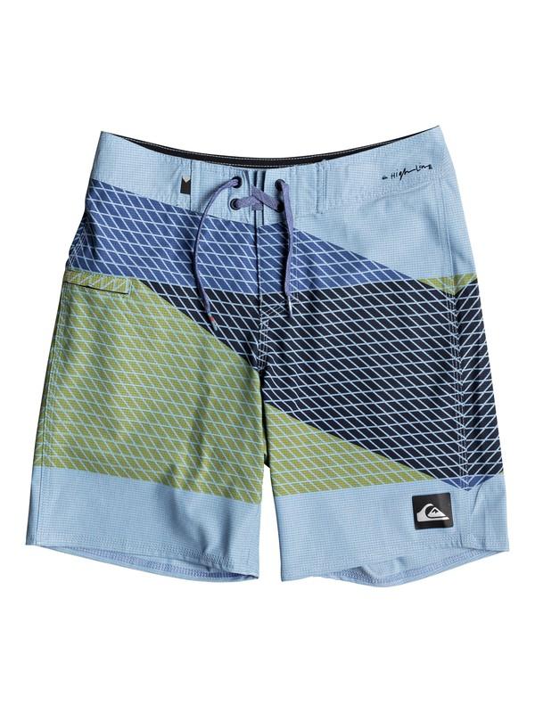 "0 Highline Slash 16"" - Board Shorts for Boys 8-16 Blue EQBBS03256 Quiksilver"