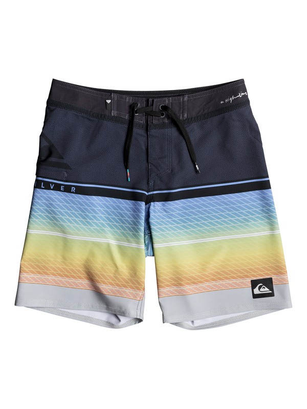 "0 Highline Slab 16"" - Board Shorts Blue EQBBS03258 Quiksilver"