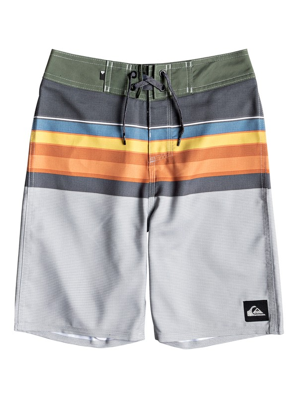 "0 Boy's 8-16 Everyday Sion 18"" Boardshorts Black EQBBS03360 Quiksilver"