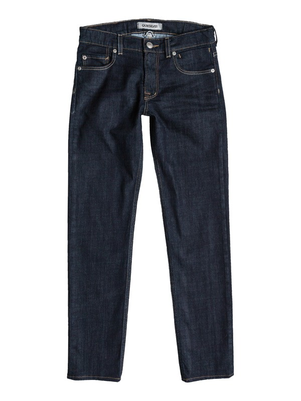 0 Distortion Rinse - Slim-Fit Jeans  EQBDP03052 Quiksilver