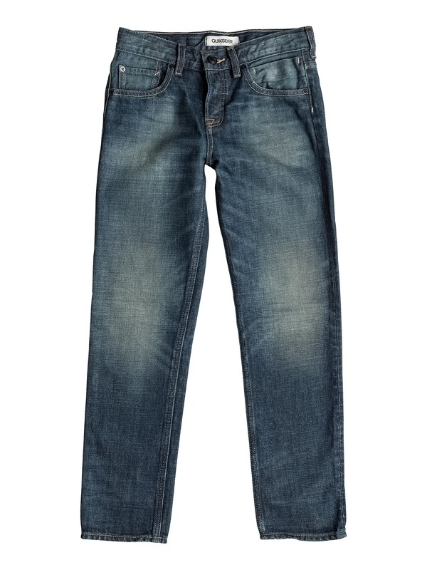 0 Sequel Vintage Brown - Jean coupe regular  EQBDP03057 Quiksilver