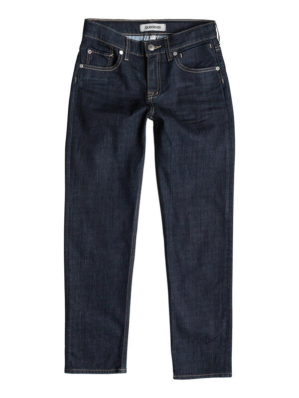 0 Sequel Rinse - Regular Fit Jeans  EQBDP03058 Quiksilver