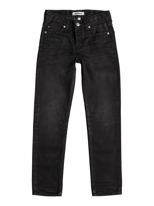 0 Revolver Vintage Black - Straight-Fit Jeans  EQBDP03060 Quiksilver