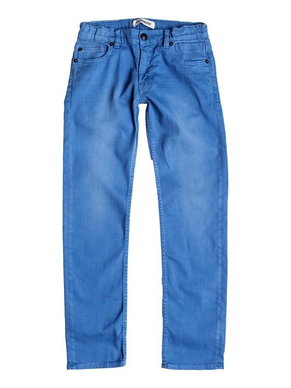 0 Distorsion Colors - Slim Fit Jeans  EQBDP03068 Quiksilver
