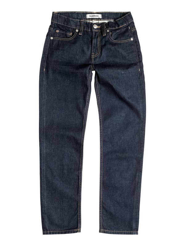 0 Sequel Rinse - Regular Fit Jeans  EQBDP03079 Quiksilver