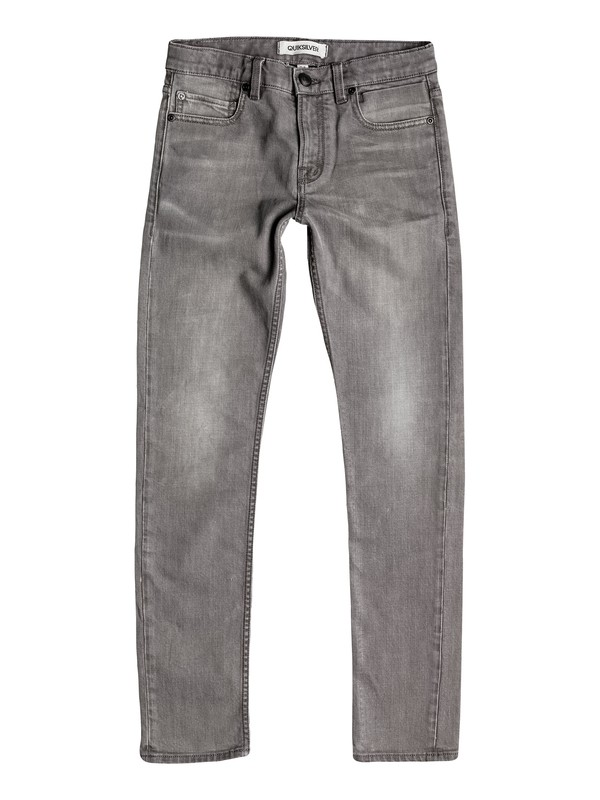 0 Zeppelin Light Grey - Jean skinny  EQBDP03083 Quiksilver