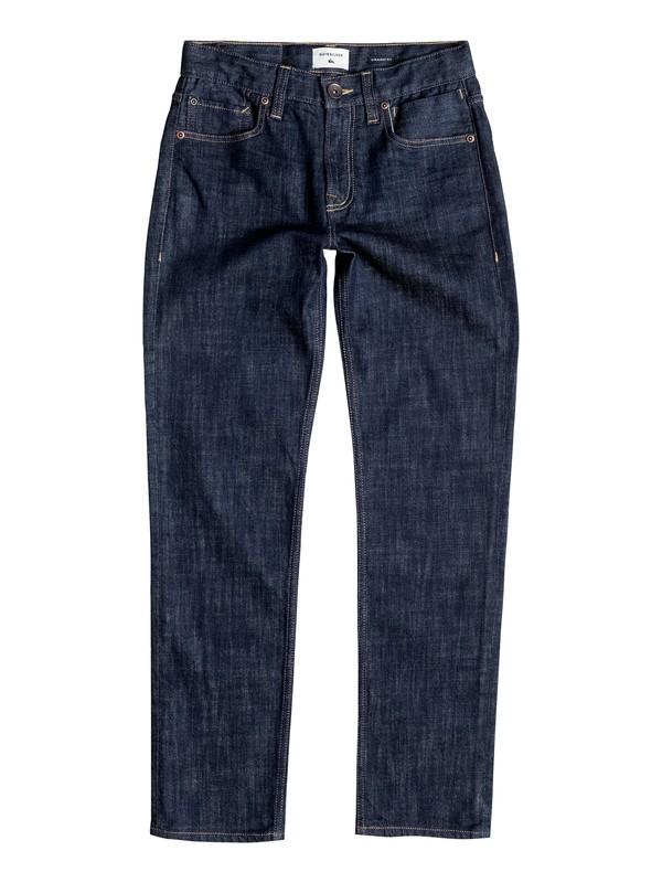 0 Revolver Rinse - Straight Fit Jeans Blau EQBDP03091 Quiksilver
