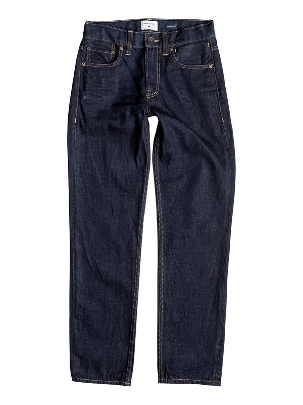 0 Sequel Rinse - Regular Fit Jeans  EQBDP03092 Quiksilver