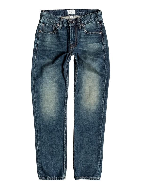 0 Sequel Vintage Brown - Regular Fit Jeans Blau EQBDP03094 Quiksilver
