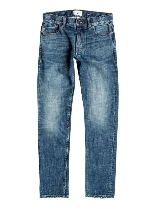 0 Distorsion Medium Blue - Jean coupe slim  EQBDP03095 Quiksilver