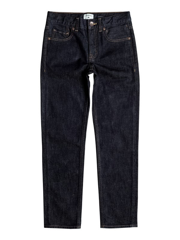 0 Revolver Rinse - Straight Fit Jeans Blue EQBDP03128 Quiksilver
