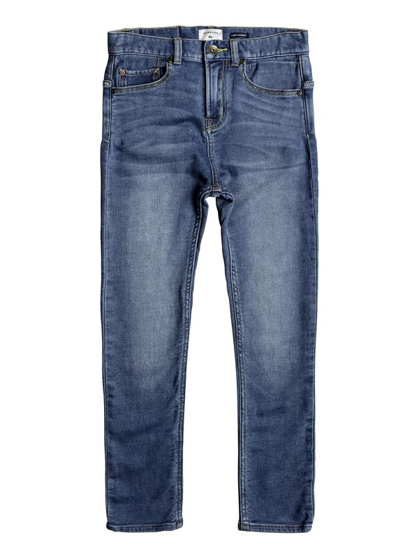0 Low Bridge Buggy Blue - Skinny Fit Jeans for Boys 8-16  EQBDP03139 Quiksilver
