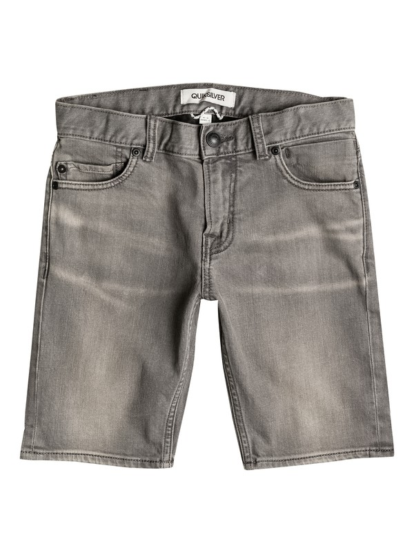 0 Distorsion Light Grey - Denim Shorts  EQBDS03024 Quiksilver