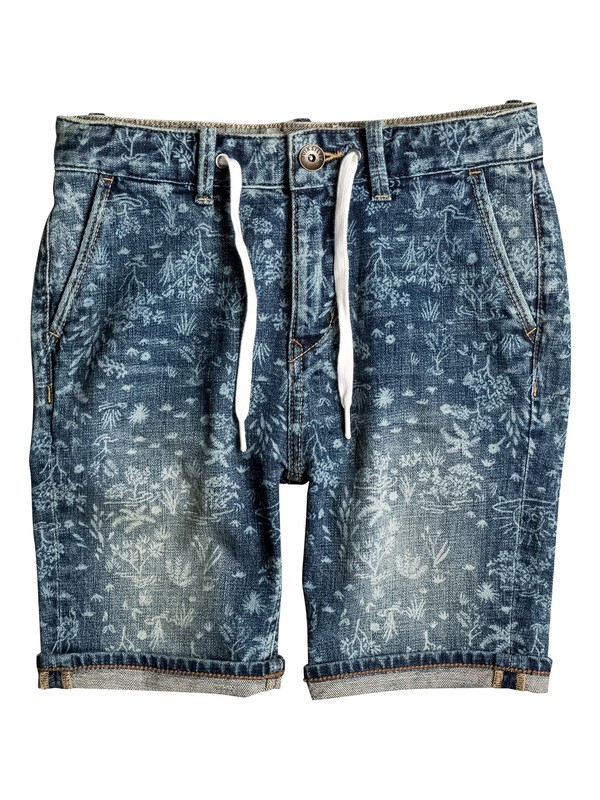 0 Bloom Field - Bermuda in denim  EQBDS03043 Quiksilver