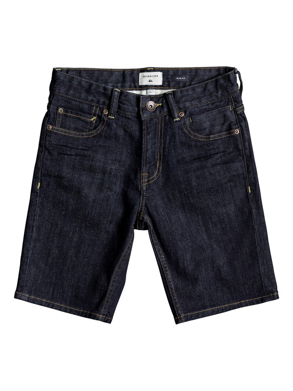 0 Distorsion Rinse - Short Vaquero para Chicos 8-16  EQBDS03052 Quiksilver