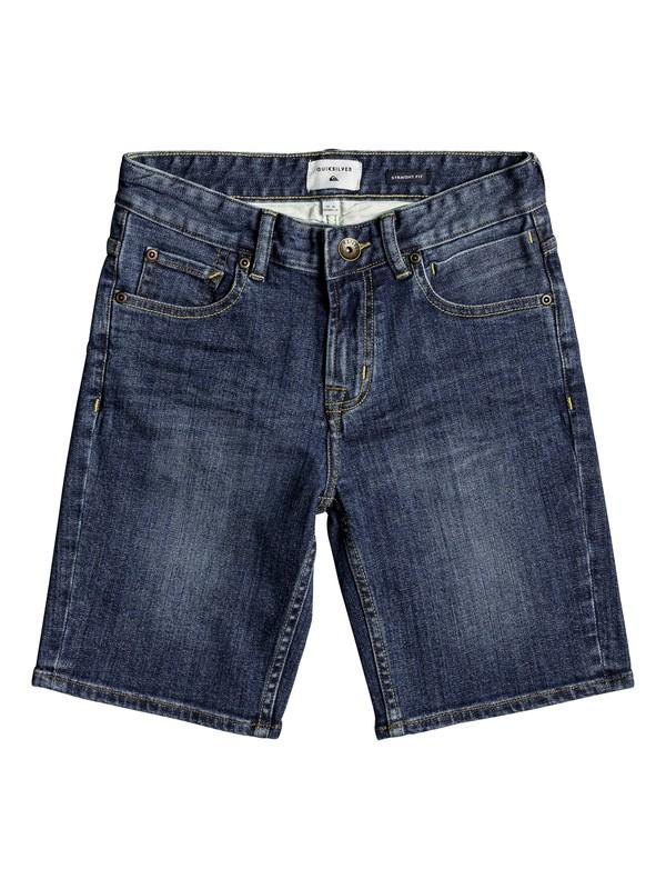0 Revolver Middle Sky - Denim-Shorts für Jungen 8-16 Blau EQBDS03053 Quiksilver