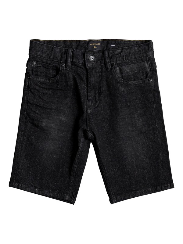 0 Killing Zone - Denim Shorts Black EQBDS03054 Quiksilver