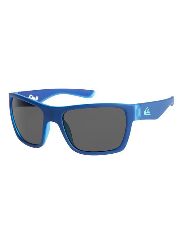 0 Captain - Sunglasses for Boys 8-16 Blue EQBEY03003 Quiksilver