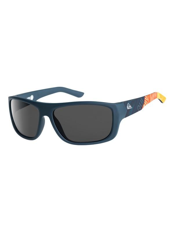 Quiksilver Sonnenbrille »Arlo«, blau, navy blue-print/ grey