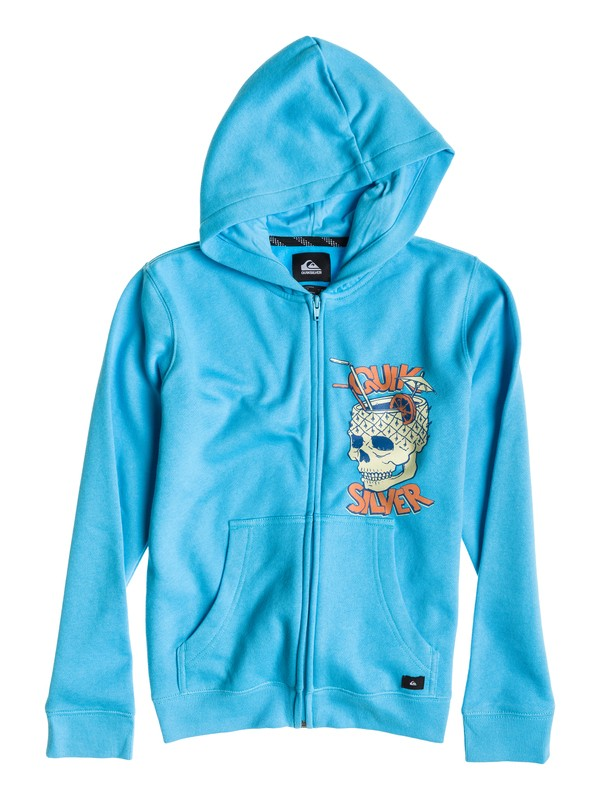 0 Hood Zip Caliente Cocktail Youth  EQBFT03054 Quiksilver