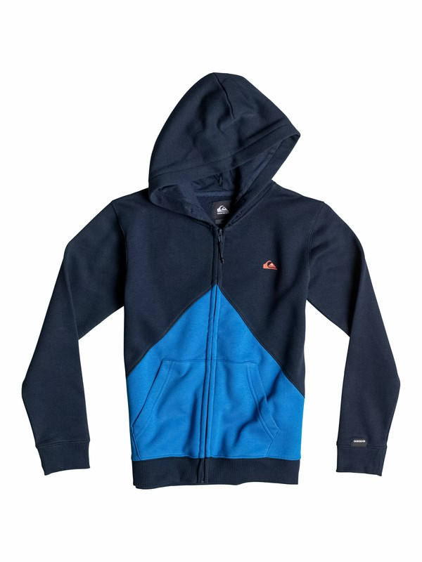 0 Active Color Block - Sweat à capuche zipé  EQBFT03103 Quiksilver