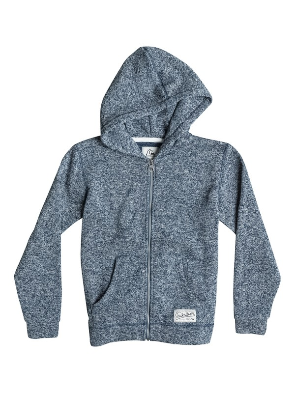 0 Keller Zip - Zip-Up Polar Fleece Hoodie  EQBFT03104 Quiksilver