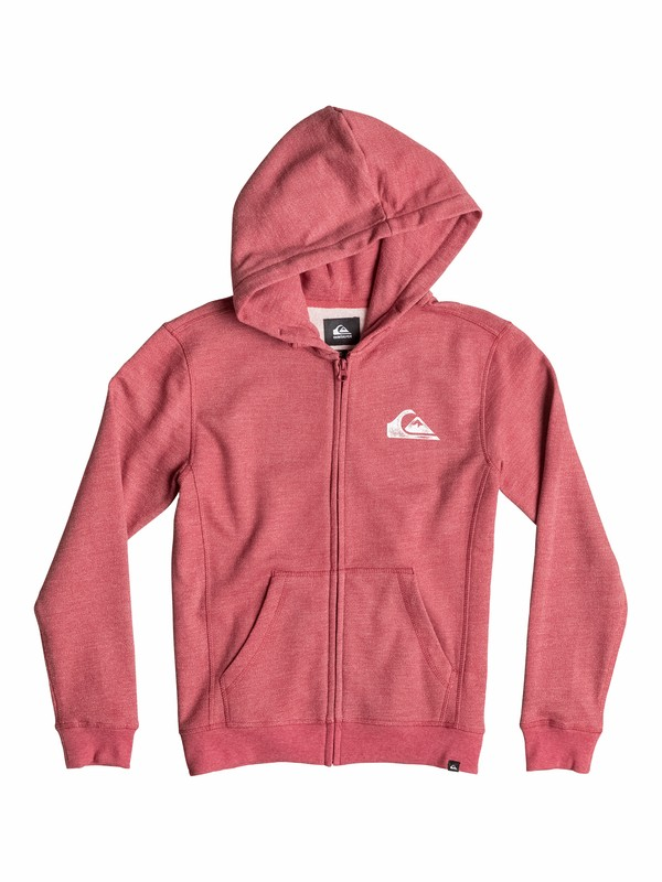 0 Everyday Heather Zip - Felpa con cappuccio e zip  EQBFT03109 Quiksilver