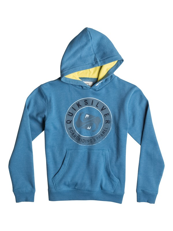 0 Finish Line Front - Front Hoodie  EQBFT03118 Quiksilver