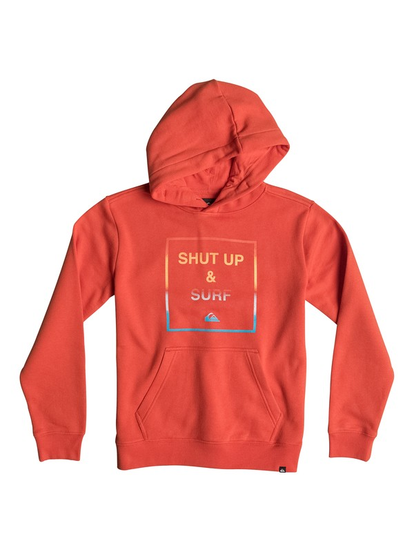 0 Shut Up And Surf - Sweat à capuche  EQBFT03124 Quiksilver
