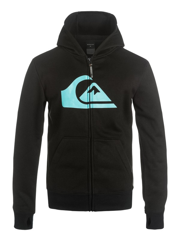 0 M&W - Zip-Up Riding Hoodie  EQBFT03213 Quiksilver