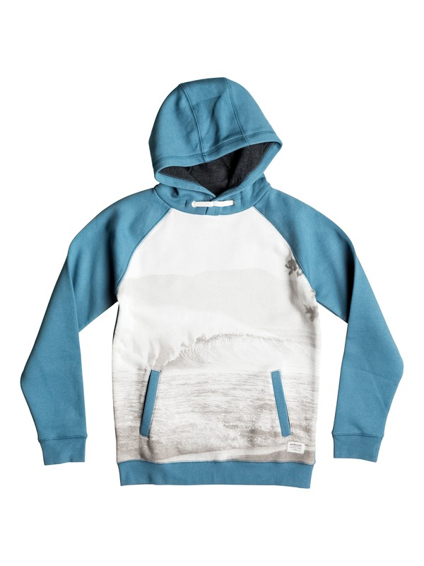 0 Photoprint - Sweat à capuche  EQBFT03241 Quiksilver