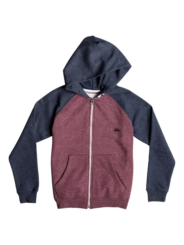 0 Boy's 8-16 Everyday Zip-Up Hoodie  EQBFT03259 Quiksilver