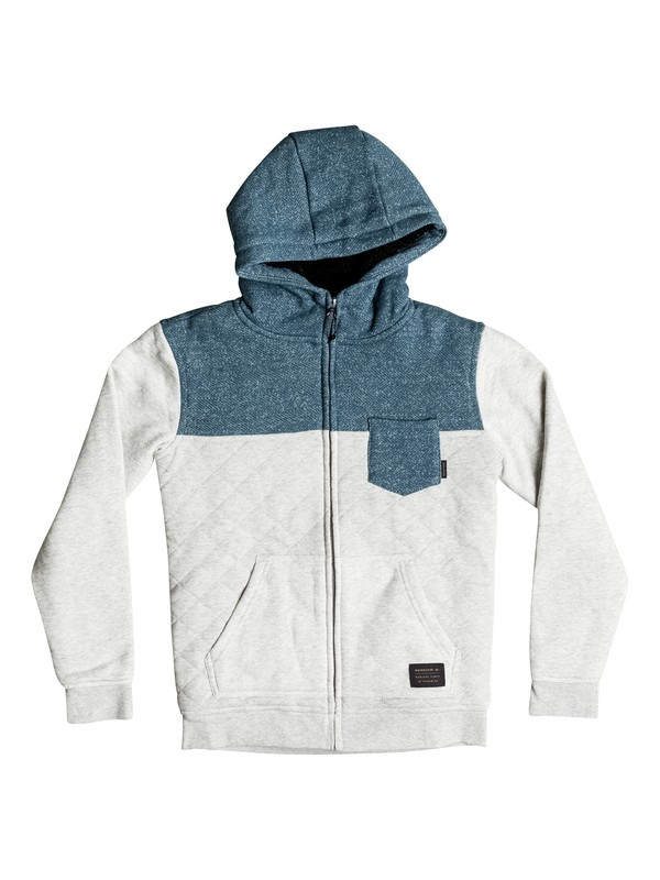 0 Best Trip - Quilted Zip-Up Hoodie  EQBFT03265 Quiksilver