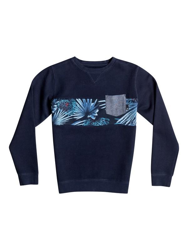 0 Boy's 8-16 Strange Night Pullover Sweatshirt  EQBFT03268 Quiksilver