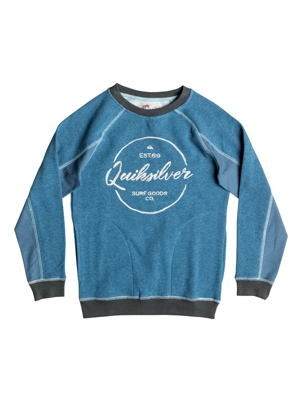 0 Schools Jail - Sweat  EQBFT03318 Quiksilver