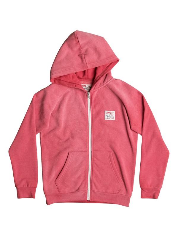 0 Culver Crest - Sudadera con capucha y cremallera Rojo EQBFT03350 Quiksilver