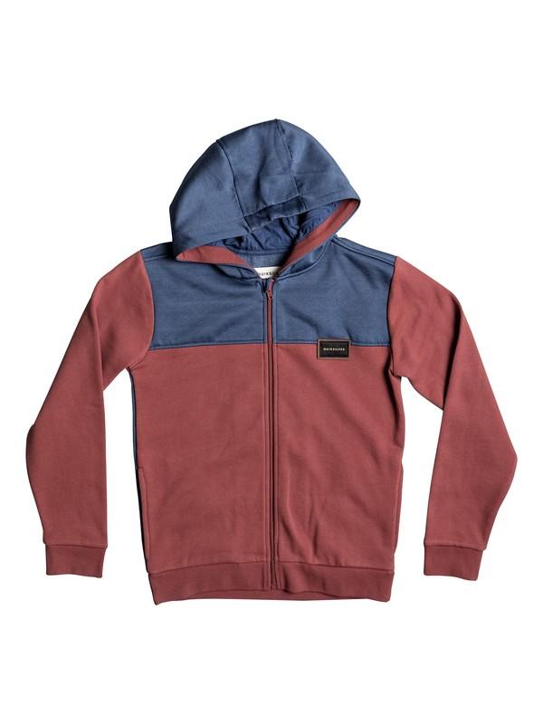 0 Thazi - Zip-Up Hoodie Brown EQBFT03375 Quiksilver