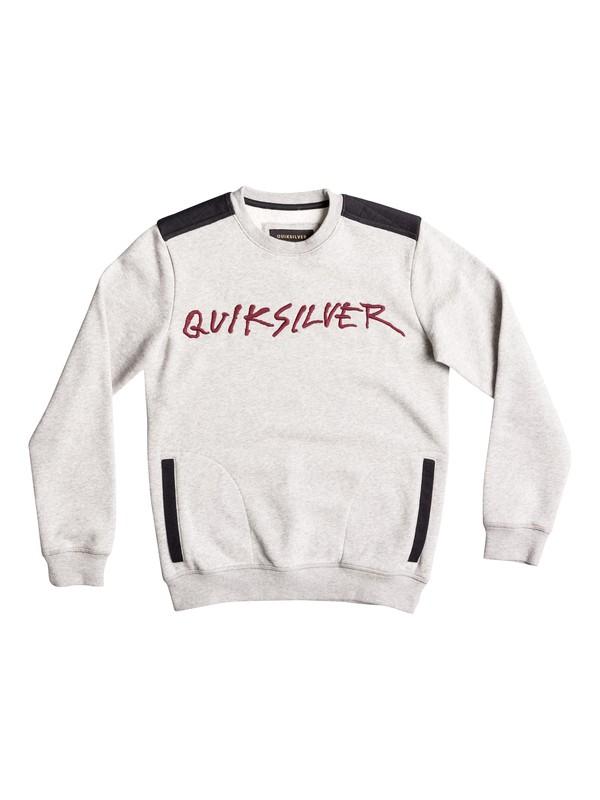 0 Hanzar - Sweatshirt Grey EQBFT03378 Quiksilver