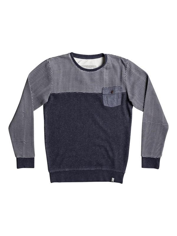 0 Mahatao - Sweatshirt for Boys 8-16 Blue EQBFT03392 Quiksilver