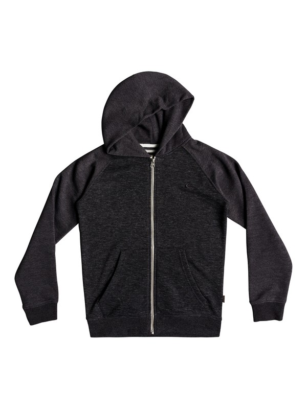 0 Everyday - Zip-Up Hoodie for Boys 8-16 Black EQBFT03394 Quiksilver