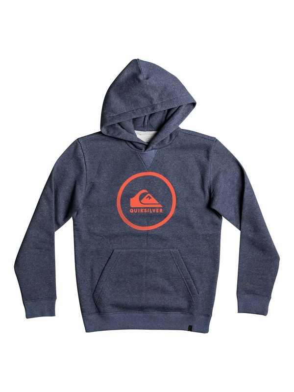 0 Big Logo - Hoodie for Boys 8-16  EQBFT03396 Quiksilver
