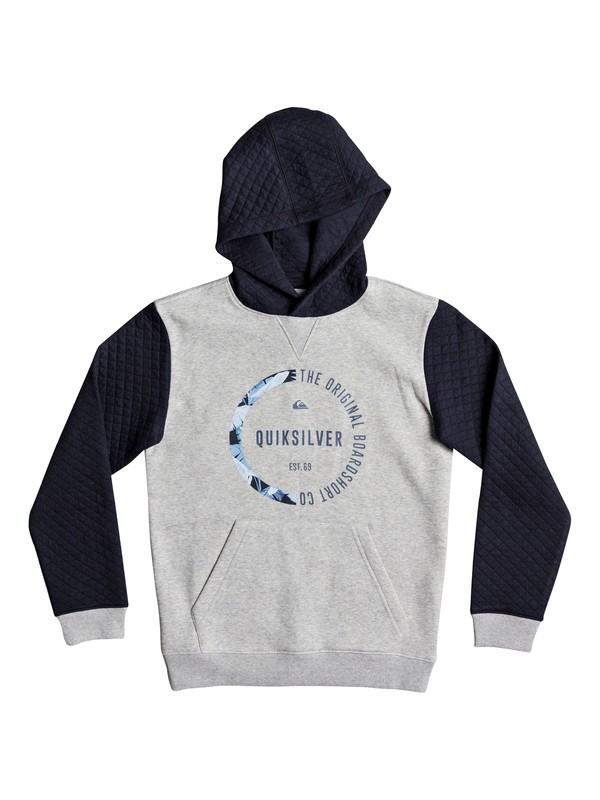 0 Bundsy - Hoodie for Boys 8-16 Blue EQBFT03426 Quiksilver