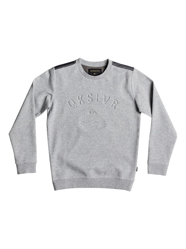 0 Dubell - Sweatshirt Grey EQBFT03428 Quiksilver