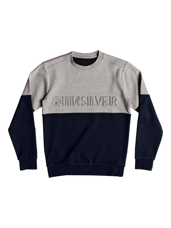 0 Saafin - Sweatshirt Bleu EQBFT03450 Quiksilver