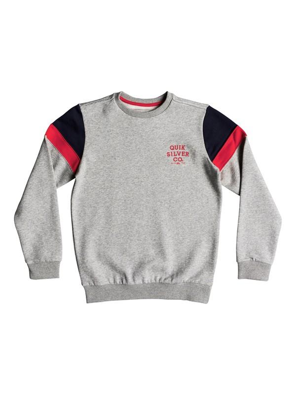 0 Kumano Kodo - Sweatshirt pour Garçon 8-16 ans Gris EQBFT03451 Quiksilver