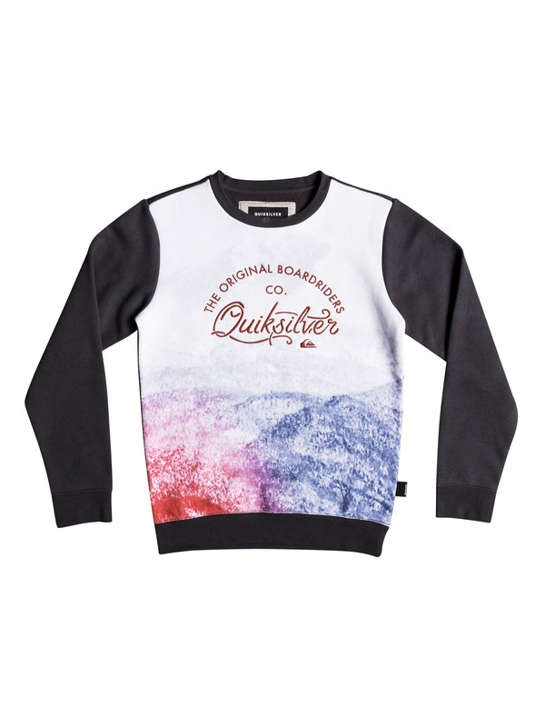 0 Lost In The Mountain - Sweatshirt for Boys 8-16 Black EQBFT03457 Quiksilver
